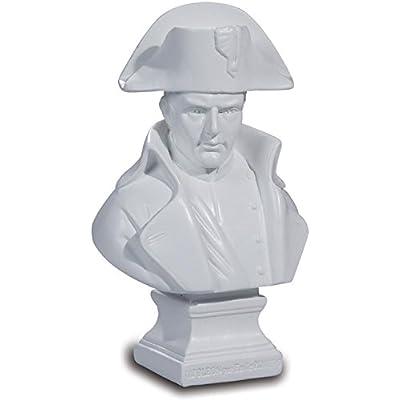 Buste Napoléon par Pinedo coloris blanc - 12,5 cm