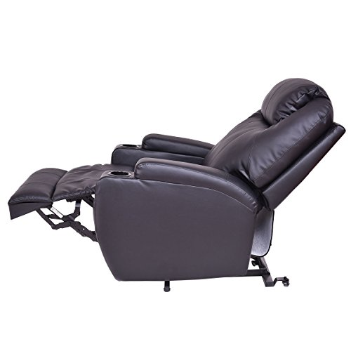 COLIBROX--Lift Chair Electric Power Recliner w/Remote and Cup Holder Living Room Furniture. by COLIBROX (Image #5)
