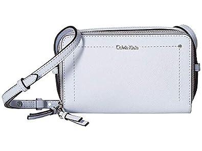 Amazon.com: Calvin Klein Saffiano Boxy - Crossbody para ...