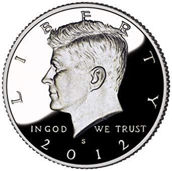 2012 S Silver Kennedy Half Dollar .50 Proof