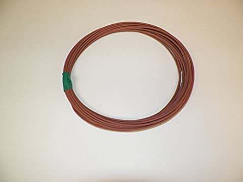 18 Ga Awg Lite Brown Automotive Truck Motorcycle General Purpose GXL Wire .94 O.D. 25' Superior Abrasion Resistance, High Heat, Resist grease,Oil, - Purpose Marine Grease