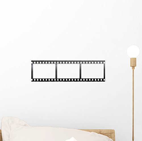 Camera Film Strip Blank Wall Mural by Wallmonkeys Peel and Stick Graphic (12 in W x 3 in H) WM211573