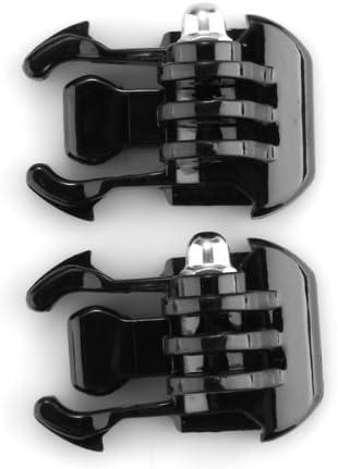 4 Cámara UK 2x de superficie vertical J gancho hebilla de soporte de montaje GoPro Hero 2 3 3