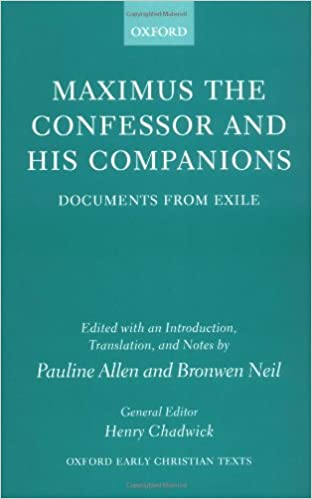 Image result for maximus confessor documents from exile
