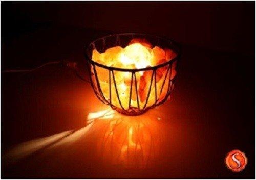 Lampade Cristallo Di Sale : Lampada di cristallo di sale braciere sale lampada sale dell