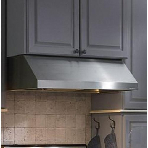 Vent-A-Hood PRH9-130 30'' Professional Series Under Cabinet Range Hood With 300 CFM Magic Lung Blower 2-Level Lighting Fire-Safe Design and SensaSource Heat Sensors in Stainless