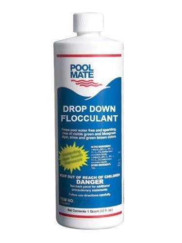 Pool Mate 1-2440 Drop Down Liquid Floc, 1-Quart by Pool Mate (Drop Down Pool)