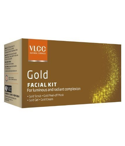 VLCC Single Silver Facial Kit Free Insta Glow Gold Bleach by VLCC