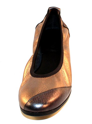 Arche Womens Piazym In Basalt Shade Metallic Leather/Micas Shade Metallic Leather - Pewter/Bronze - Size 36 M 79Jd1
