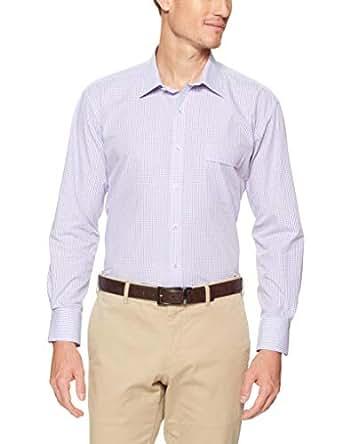 Van Heusen Classic Relaxed Fit Business Shirt, Lilac, 41cm Collar x 86cm Sleeve