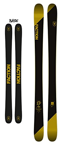 Skis Carbon Twin Tip (Faction Men's Candide 2.0 2017/2018 Downhill Skis - Flat Ski Only, 178cm)