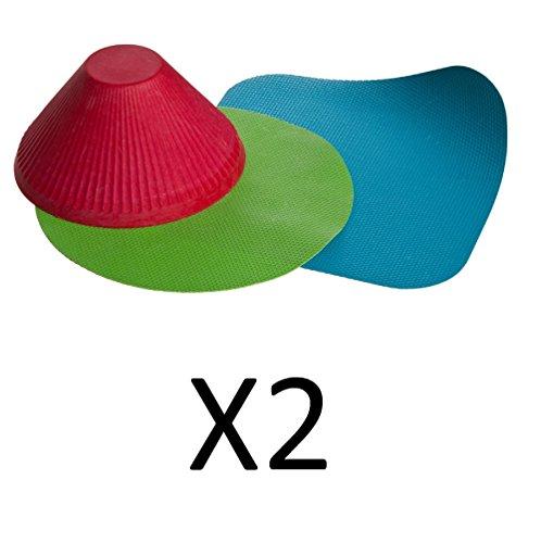 Progressive Flexible Jar Openers, Set of 3 -  Progressive International, GT-3236