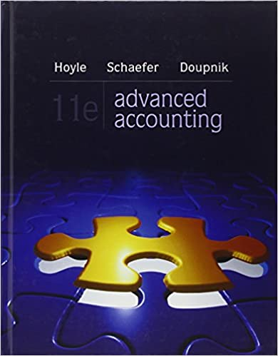 Amazon advanced accounting 9780078025402 joe ben hoyle advanced accounting 11th edition fandeluxe Images