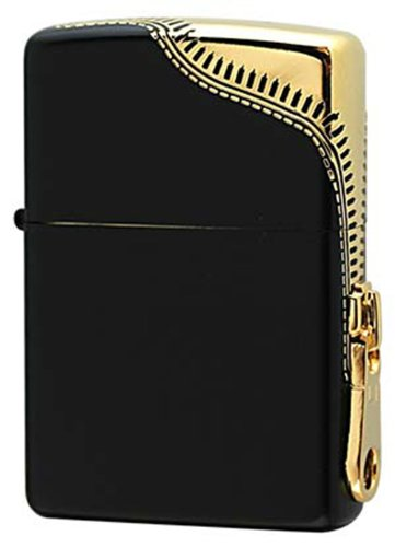 Zippo Zipper (Zippo SIDE ZIPPER ZIPPO/Black&Gold)
