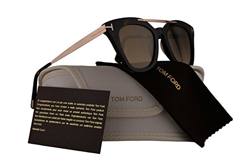 Tom Ford FT0575 Anna-02 Sunglasses Dark Brown w/Brown Lens 52G - Costa Anna Sunglasses