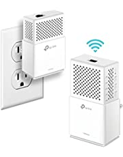TP-Link AV1000Mbps Powerline WiFi Extender, Powerline Adapter – Dual band WiFi, Gigabit Port, Noise Suppression Design, Plug&Play, Power Saving(TL-WPA7510 KIT), w/ WiFi, AV1000 + WiFi AC750