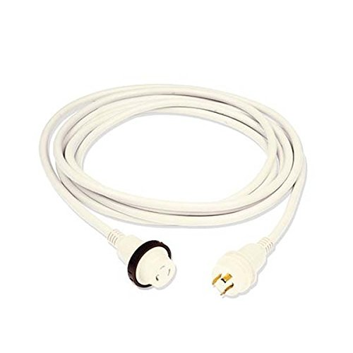 Marinco 30 Amp Power Cord Plus Corset, 50', White