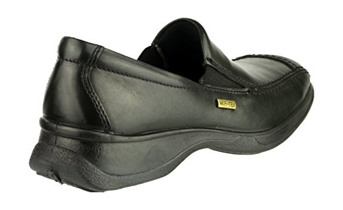 Cotswold Slip-On Textile Lined Ladies Shoes - Black - Size 7 NEYIR3