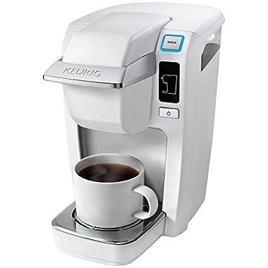 Keurig K15 Coffee Maker, White (New Packaging)