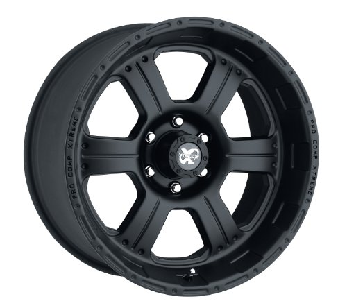 "Pro Comp Alloys Series 89 Wheel with Flat Black Finish (17x8""/5x127mm)"