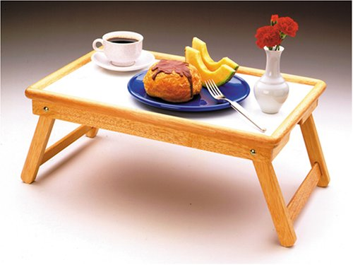 Superieur Amazon.com: Breakfast Bed Tray, Flip Top, Foldable Legs: Tables: Kitchen U0026  Dining