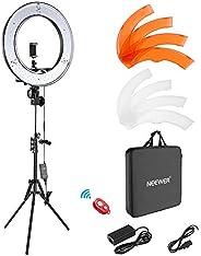 "Neewer Ring Light Kit:18""/48cm Outer 55W 5500K Dimmable LED Ring Light, Light Stand, Carrying Bag for Cam"