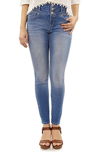 WallFlower Sassy Waist Skinny Jeans product image
