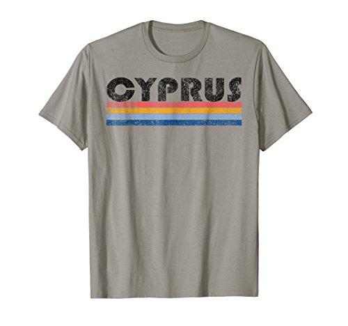 Mens Vintage 1980s Style Cyprus T Shirt Medium - Tee Cyprus