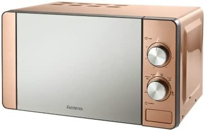 Opinión sobre Goodmans 700W 6 ajustes de calor de cobre microondas acero inoxidable