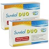 SUVÉAL Duo Complément Alimentaire à Visée Occulaire - Lot de 2 Boites de 60 capsules