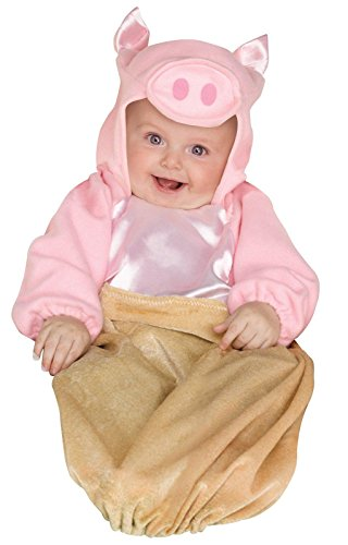 [Pig in a Blanket Infant Costume One-Size (fits up to 9M)] (Pig Infant Costumes)