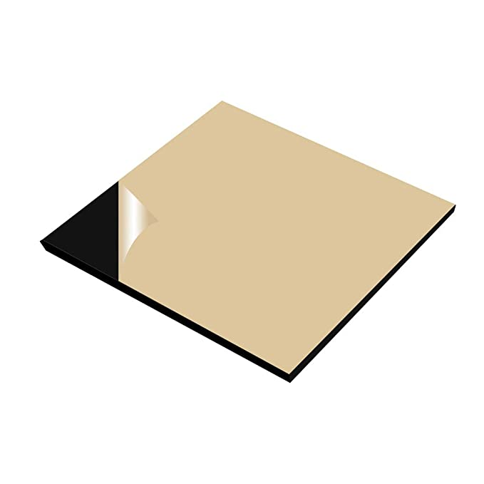 2 Pack Heated Bed Insulation Foam MELIFE 200x200mm 3D Printer Heated Bed Insulation Foam Foil Self-Adhesive Insulation Mat Sticker Hotbed Thermal Pad for CR-10 Reprap Ultimaker Makerbot