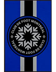FC Montrel: l'impact notebook: diary,journal lined book with 110 blank pages and 6x9 inches,matte finish cover / birthday gift for football lovers and fans of montrel fc