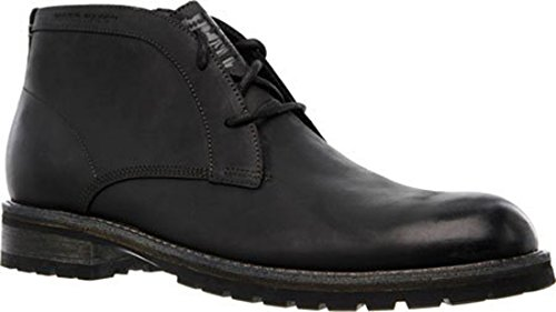 Mark Nason Dagger Collection Men's Elmwood Chukka Boot,Black,US 7.5 M