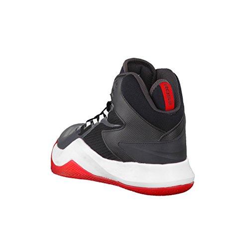 Adidas Herren D Rose Dominate Iv Basketballschuhe, Schwarz (Negbas/Neguti/Ftwbla), 48 EU