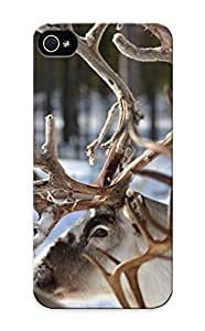 Resignmjwj Case Cover Animal Reindeer/ Fashionable Case For Iphone 5/5s
