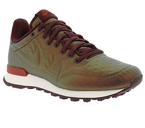 Nike Femmes Internationaliste Jcrd Hiver Formateurs 859544 Sneakers Chaussures Métalliques Acajou / Nuit Marron