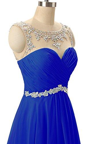 Abiti 2018 Royal Chiffon Casa Bordato Ritorno A Prom Donne Juniores Ha Da Abiti Blue Il Delle Breve ZqWOB6Pw