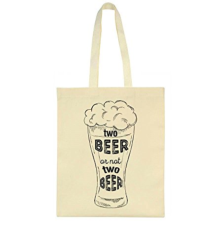 Beer Beer Nor Two Pun Design Funny Bag Tote Or Two Beer dwIqxBOZd