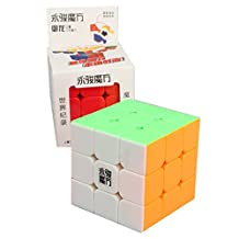 Yongjun ( YJ ) Yulong 3x3 stickerless bright magic cube moyu yulong color 3x3x3 speed cube puzzle