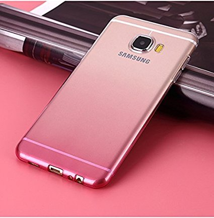 promo code a97cc 2959e Loxxo® Silicone Soft TPU Shockproof Auora Flower Case with Sparkle for  Samsung J7 Prime(Pink)