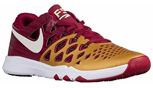 Nike Mens Train Speed 4 Team Maroon/White Synthetic Cross-Trainers Shoes 10 M US