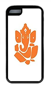 Hot for iphone 5c Customized Unique Print Design Ganesha Silhouettes  New Fashion Tpu Black for iphone 5c Cases