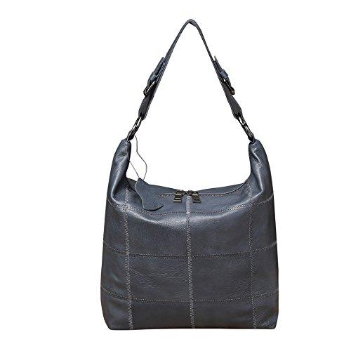 Bolsa Claro Gris Femenino Invierno blue Dama Portable Bolso Ms color Gray Bolsa GUANGMING77 HStwq8zpx