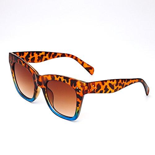 de UV400 de de Gafas mujer KD9768 C6 hombre sombras Sunglasses TL C7 gafas sol mujer KD9768 sol espejo PBOXEwq