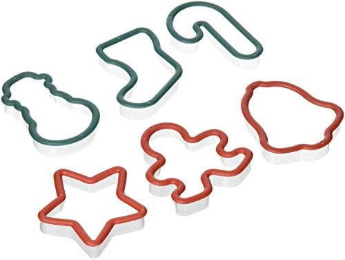 Christmas Shapes Plastic Cookie Cutters, 6-pc. - Plastic Cutters Christmas Cookie