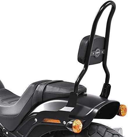 114 18-20 with luggage rack black Craftride Sissy bar CSL Fix for Harley Fat Bob