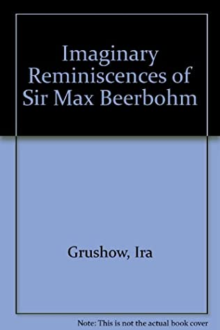 book cover of The Imaginary Reminiscences of Sir Max Beerbohm
