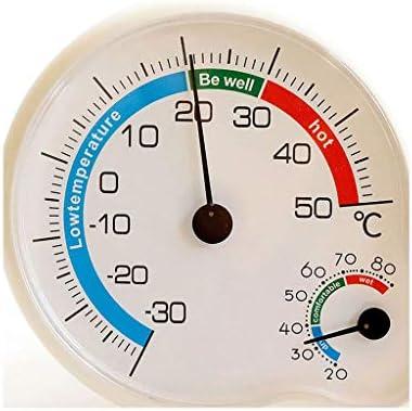 Raumfeuchtigkeitsmesser Thermometer Elektronische Thermometer und Hygrometer Thermometer Hygrometer Indoor Baby-Raum-Raumtemperatur-Meter Präzisions-Creative-Temperatur-Messgerät Higrómetro digital pa