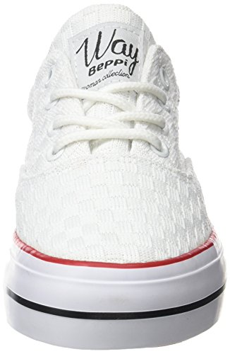 Beppi White Women's Fitness Shoe Canvas qwqFgr8pv